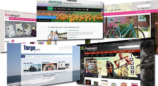 Responsiva hemsidor och webb-shoppar